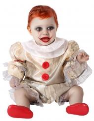 Disfraz payaso terrofífico bebé