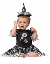 Disfraz bruja candy bebé