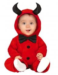 Disfraz diablo con pajarita bebé