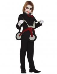 Disfraz muñeca en triciclo niña