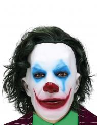 Máscara Mr Smile con pelo para adulto
