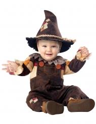 Disfraz feliz espantapájaros bebé