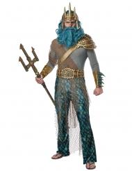 Disfraz de dios de los océanos hombre