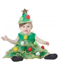 Disfraz de árbol de Navidad bebé