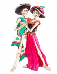 Decoración esqueletos mexicanos 30 cm