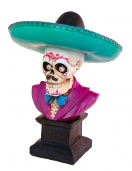 Decoración esqueleto mexicano 29 cm