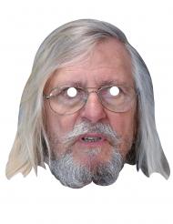 Máscara de cartón rostro de Dr. Raoult
