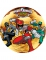 Disco ácimo Power Rangers™ 21 cm