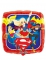 Globo cuadrado aluminio Super Hero Girls™ 43 cm