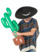 Cactus gonflable 90 cm-1