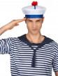 Chapeau de marin à pompon adulte-1