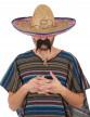 Sombrero mexicain en paille adulte-5