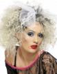 Perruque années 80 blonde femme