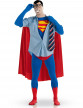 Déguisement seconde peau Superman™ adulte-1