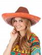 Sombrero mexicain orange adulte-2