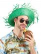 Chapeau Hawaï vert adulte-1