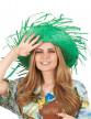 Chapeau Hawaï vert adulte-2