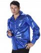 Chemise disco à sequins bleus homme-1