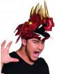 Chapeau dragon chinois rouge adulte