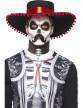 Kit maquillage squelette mexicain adulte Dia de los muertos