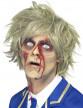 Perruque courte blonde zombie homme Halloween