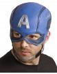 Casque en latex Captain America™ Avengers™ adulte