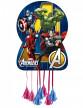 Piñata en carton Avengers™ 46 x 65 cm