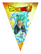 Guirlande fanions en papier Dragon Ball Super™ 360 cm-1