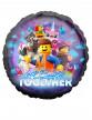 Ballon en aluminium La Grande Aventure Lego 2™ 43 cm