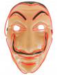 Masque voleur LED rouge adulte-1