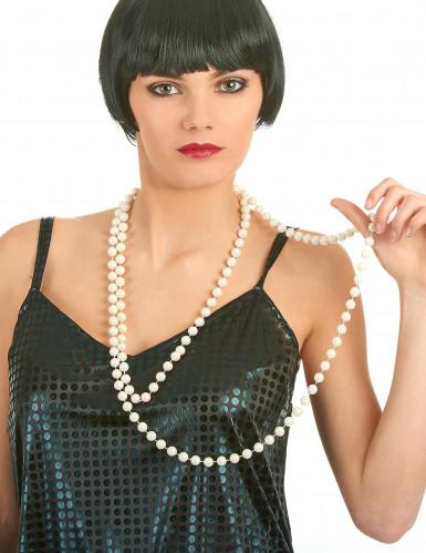 Collar de perlas nacaradas para mujer-1