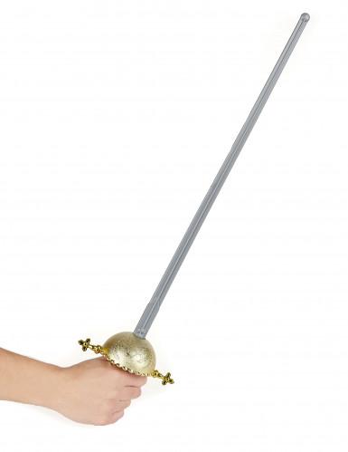 Espada de justiciero con empuñadura redonda-1