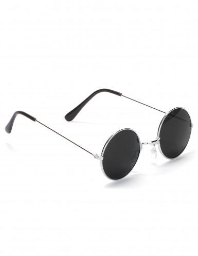 Gafas redondas de hippie para adulto-2
