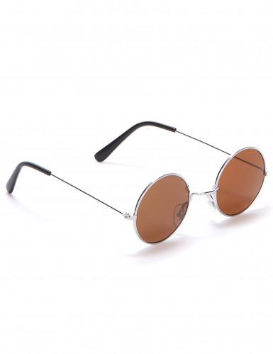 Gafas redondas de hippie para adulto-3