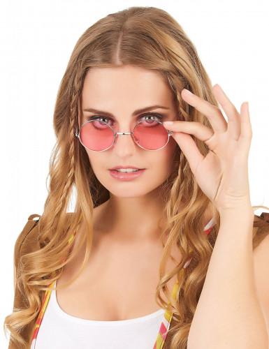 Gafas redondas de hippie para adulto-5