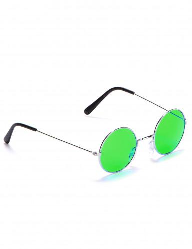 Gafas redondas de hippie para adulto-4