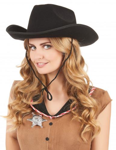 Sombrero de vaquero para adulto-1