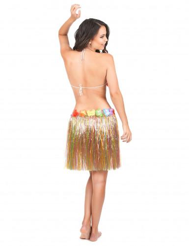 Falda hawaiana de varios colores para mujer-2