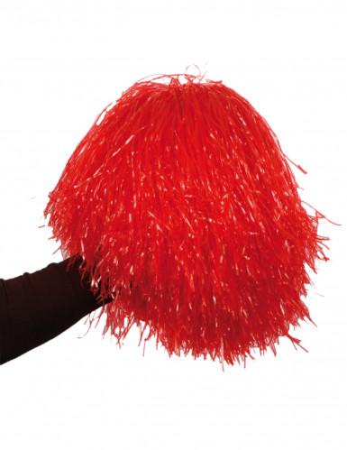 Pompón rojo de aficionado