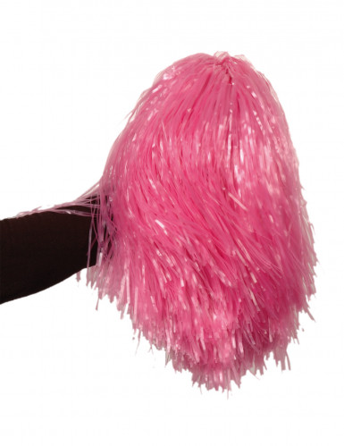 Pompón rosa de aficionado