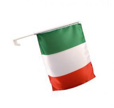 Bandera para coche de aficionado italiano