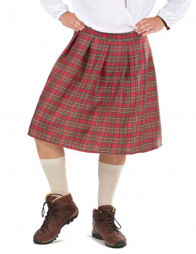 Kilt escocés para adulto