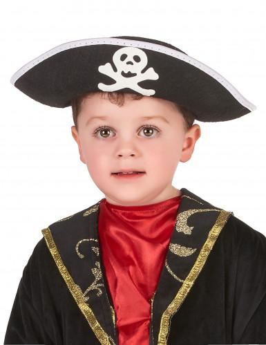 Sombrero de pirata para niño