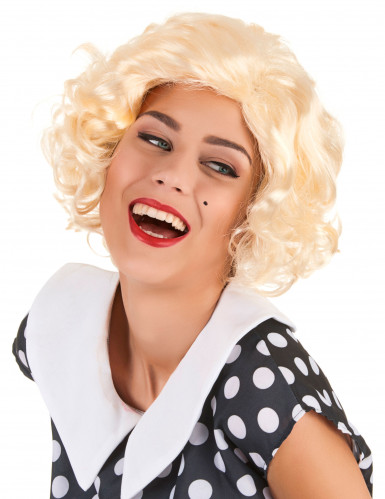 Peluca de Marilyn para mujer