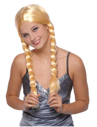 Peluca rubia de Eva para mujer