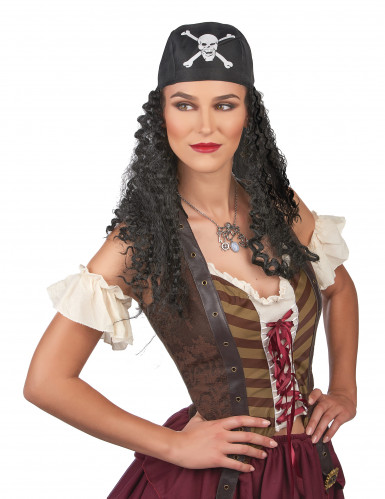Peluca de pirata para hombre-1