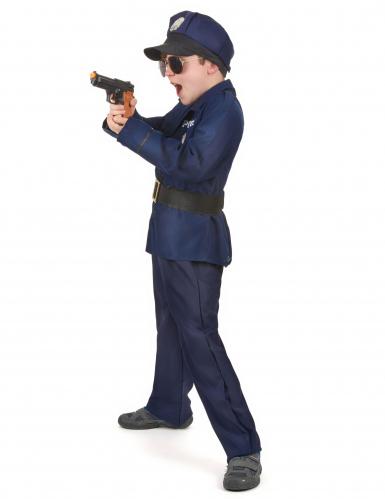 Disfraz de policía de lujo para niño-1