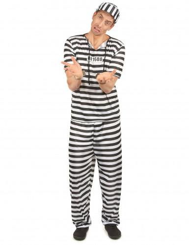 Disfraz de preso para hombre