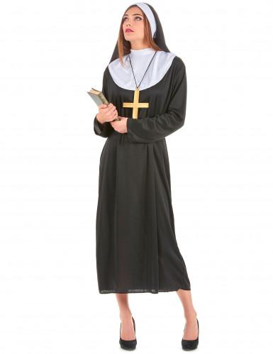 Disfraz de monja para mujer
