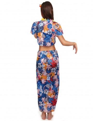 Disfraz de turista hawaiana para mujer-1